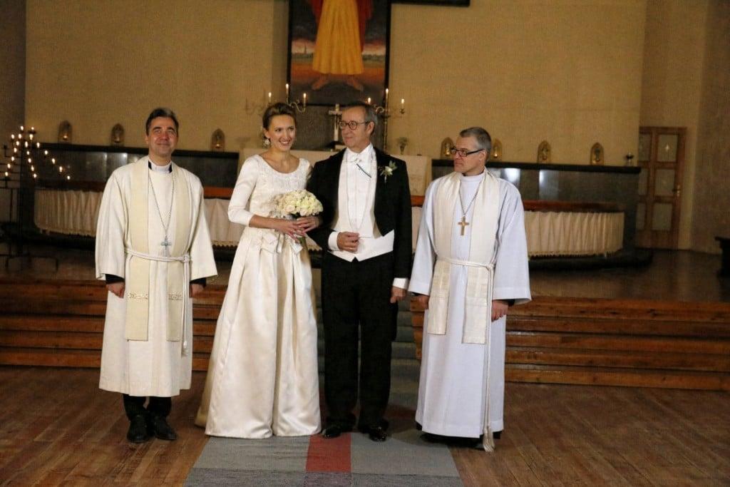 Estlands Präsident heiratet lettische Verteidigungsbeamtin