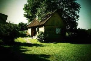 Haus auf der Insel Hiiumaa