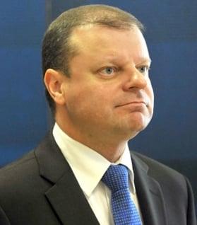 Ministerpräsident Saulius Skvernelis
