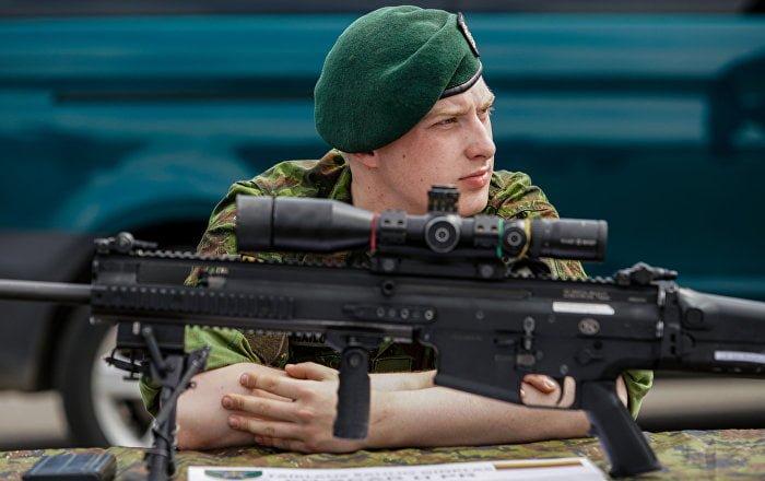 Just nach IS-Zerschlagung: Baltische Länder wollen gegen Terror im Nahost kämpfen