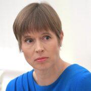 Die estnische Präsidentin Kersti Kaljulaid