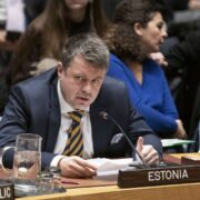 Estnische Außenminister Urmas Reinsalu