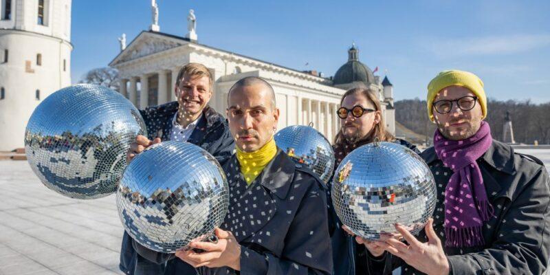 Die Open-Air-Diskothek Vilnius