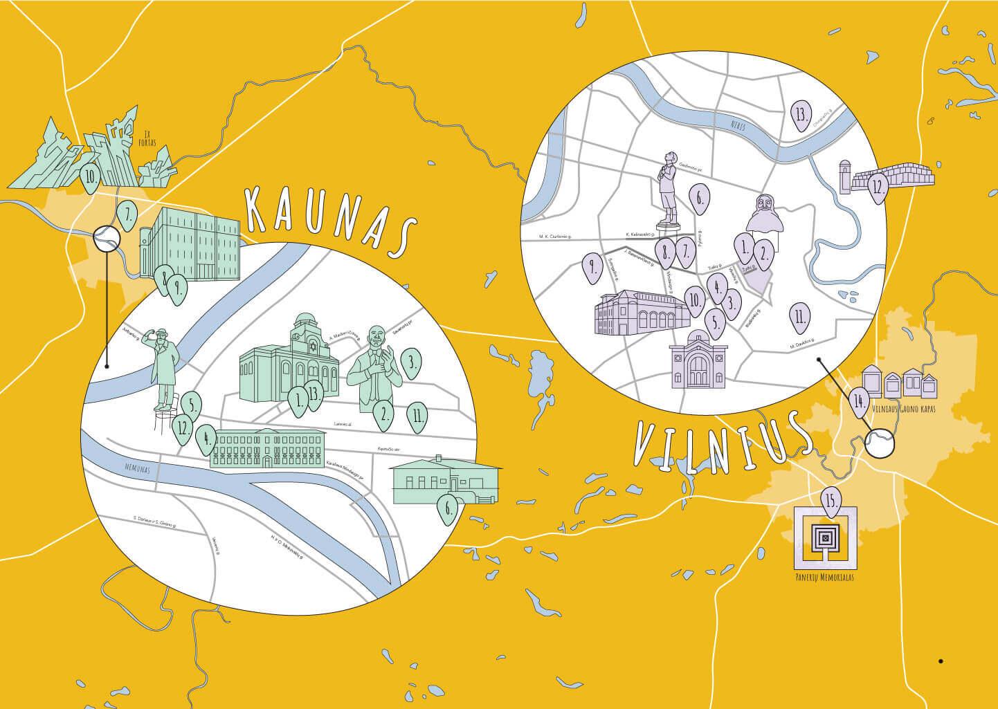 Litauen stellt sein reiches jüdisches Erbe auf einer virtuellen Landkarte vor