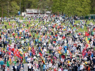 Lithuania: Großen Marsch zur Verteidigung der Familie