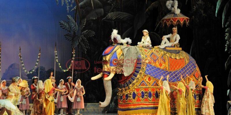 Ballett des Litauischen Nationaltheaters La Bayadère